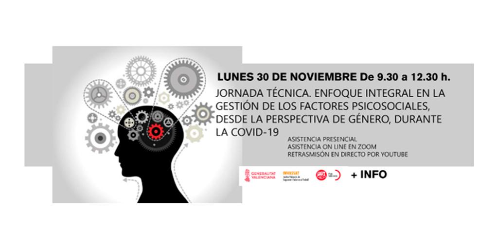 Jornada técnica: Enfoque integral en la gestión de los factores psicosociales, desde la perspectiva de género, durante la COVID-19